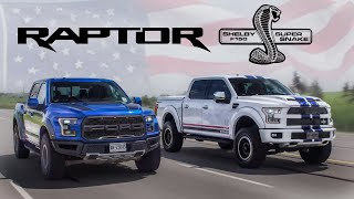 2017 Ford Raptor vs 700hp Shelby F150 Review - American Legends