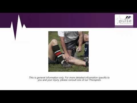 How to Manage an Acute Soft Tissue Injury in the First 72 Hours