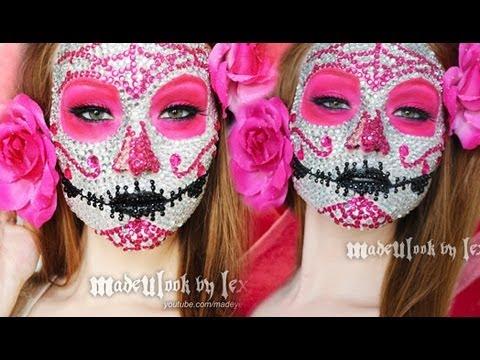 Baixar Sugar Skull Makeup Tutorial (800 RHINESTONES! ORIGINAL MADEULOOK!)