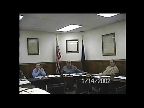 Champlain Village Board Meeting  1-4-02