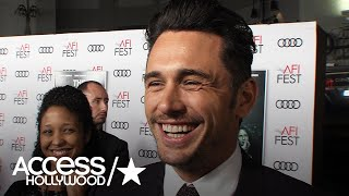 James Franco On Why Tommy Wiseau Rated His 'Disaster Artist' Performance 99.9% | Access Hollywood