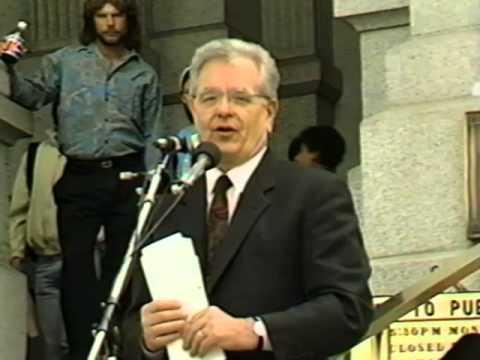 NTD May 1993 Press Conference