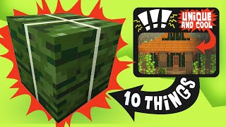 10 Things You Can BUILD with a Kelp Block in Minecraft