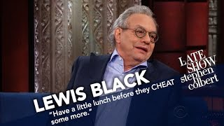 Lewis Black Rates Trump's First Week