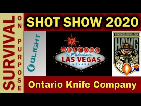 Ontario Knife Company - Old Hickory Outdoor Knives - SHOT 2020