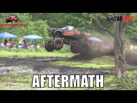 AFTERMATH Chevy Mega Truck At Perkins Spring Mud Bog