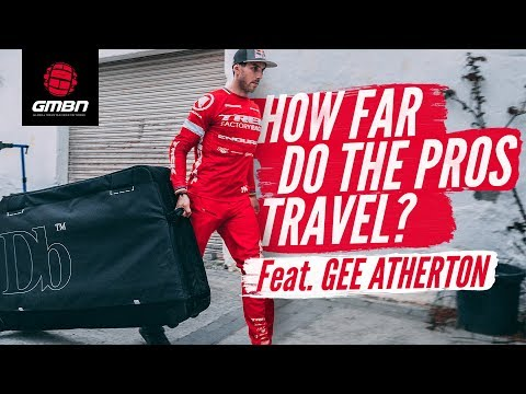 How Far Do DH Pros Travel In A Season"