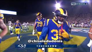 2018 NFL Divisional Round Game #2 Game Highlight Commentary (Rams vs Cowboys)