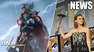 Kevin Feige Shares How Natalie Portman Returned & She'll Get JACKED | Thor: Love and Thunder
