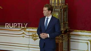 Austria: Transitional government sworn in after FPO scandal resignations