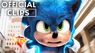 SONIC THE HEDGEHOG First 8 Minutes of the Movie! (2020)