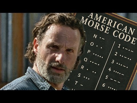 Walking Dead Theory: Rick and Daryl Are Using Morse Code