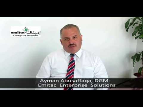 Listen to Ayman Abusaffaqa, DGM- on Emitac.-Sanovi Partnership
