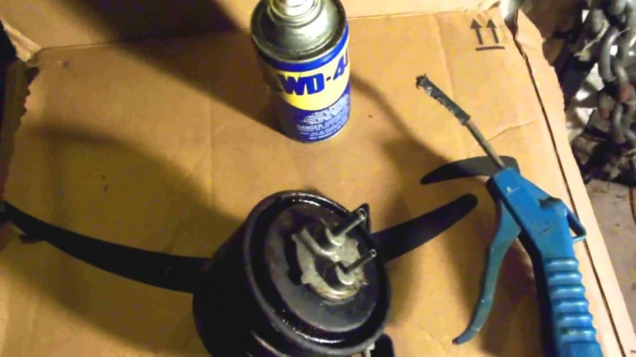 unclog a charcoal fuel vapor canister easy fix youtube. Black Bedroom Furniture Sets. Home Design Ideas