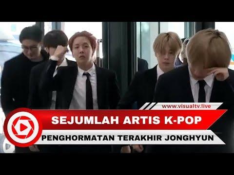 Penghormatan Terakhir untuk Jonghyun
