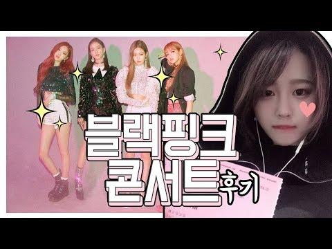 블랙핑크 콘서트 다녀왔어요❤️  생애 첫 아이돌 콘서트!