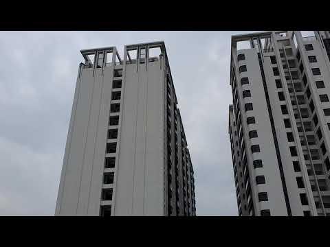 2019-2020中欣開發橋頭建案 欣橋之心 接近完工紀錄