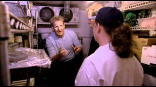 'I'm disgusted!' Filthy Fridges at Handlebar - Kitchen Nightmares