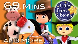 Yankee Doodle | Plus Lots More Nursery Rhymes | 69 Minutes Compilation from LittleBabyBum!
