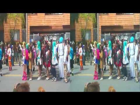 Grand Parade Cherry Blossom Festival SF 2012 (YT3D:enable=true)