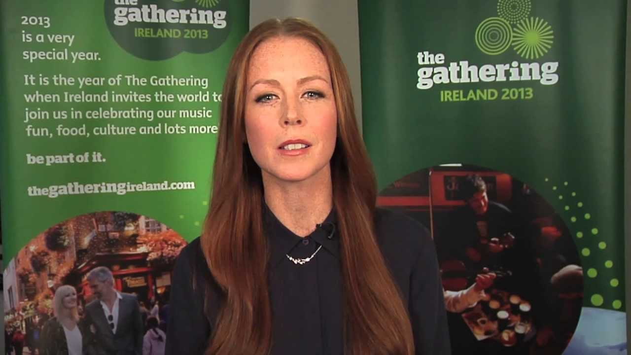 Jean Butler invites you to the longest Riverdance line ...