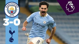 HIGHLIGHTS | City 3-0 Spurs | GUNDOGAN DOUBLE AND RODRI ON PENALTY DUTIES!