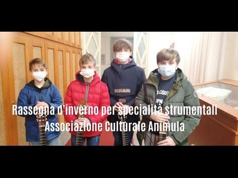 Rassegna d'inverno per specialità strumentali -  Classe di Strumento Musicale - I.C. Manzoni Augruso