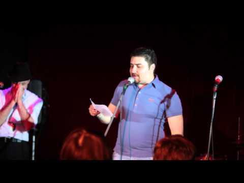 Dime о Big Black Boots (стихотворение) @ 16Тонн, Москва 16-05-2011