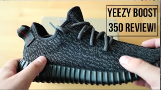 Unboxing The Kanye West Yeezy Boost 350 Black Review!