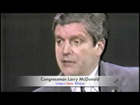 Congressman Larry McDonald on Senator McCarthy...