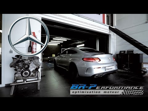 Mercedes C63 AMG S 4.0 Stage 1 By BR-Performance