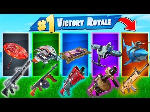 The *RANDOM* GLIDER SKIN Challenge In Fortnite Battle Royale!