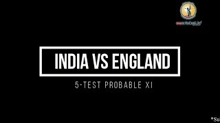 England Vs India 5th Test - India Probable Playing XI