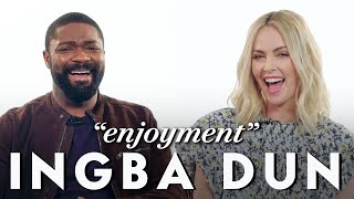 Charlize Theron and David Oyelowo Teach Afrikaans and Yoruba Slang | Vanity Fair