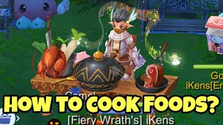 Ragnarok M Eternal Love Cooking Guide - How To Cook Foods