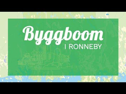 Byggboom 2018 Ronneby Kommun