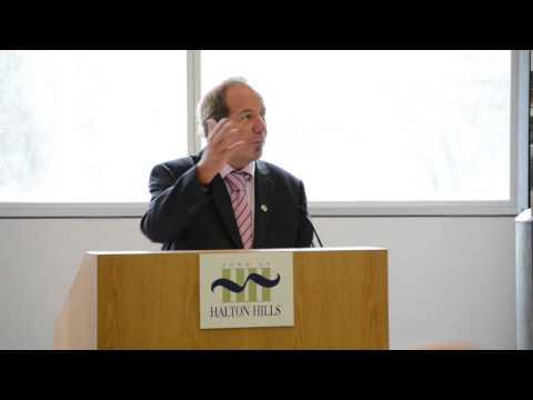 Robert C Austin Operations Centre Podium Speech