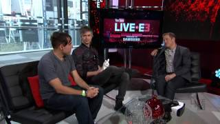 YouTube Live at E3 2016 - Adult Swim Games Interview