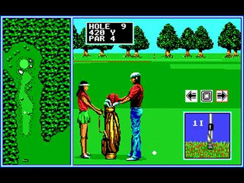 Tournament Golf (Round 6) (SEGA Enterprises) (MS-DOS) [1990]