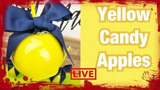 How To Achieve Lemon Yellow Candy Apples