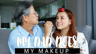 My Dad Does My Makeup Challenge [feat. Daddy Ow] | HAPPY FATHER'S DAY