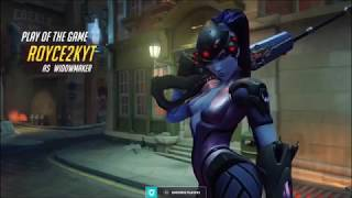 After 2 years I'm back on OW, here's what 1 hour of widowmaker gameplay looks likes.