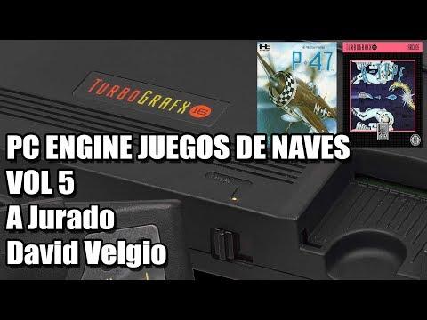 PC ENGINE JUEGOS DE NAVES VOL 5