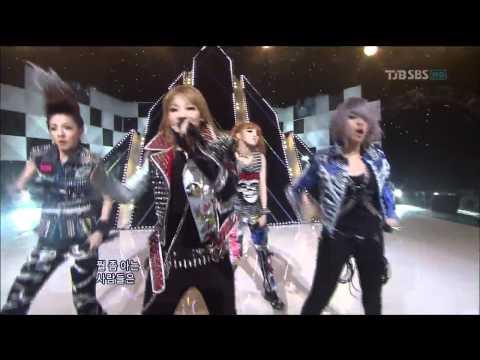 [HDTV] 투애니원 (2NE1) - 내가 제일 잘 나가 (2011.06.26 인기가요)