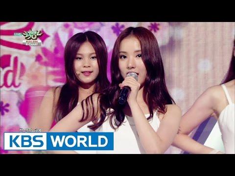 GFRIEND - Me gustas tu | 여자친구 - 오늘부터 우리는 [Music Bank K-Chart  / 2015.08.07]