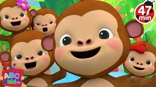 Five Little Monkeys Jumping on the Bed 2 | +More Nursery Rhymes & Kids Songs - CoCoMelon