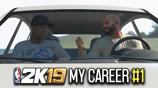 WELCOME TO LA BABY!! - NBA 2K19 My Career Mode [Ep 1]