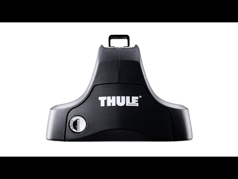 THULE Audi A3 Roof Bars - 3-dr Hatchback (8V) (2012- ) WingBar 969B Black Roof Bar Kit
