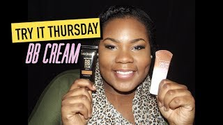 TRY IT THURSDAY | Black Radiance BB Cream VS. Maybelline BB Cream