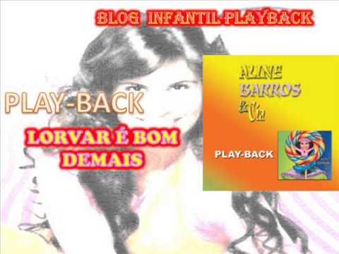 Baixar louvar é bom demais-playback-aline barros